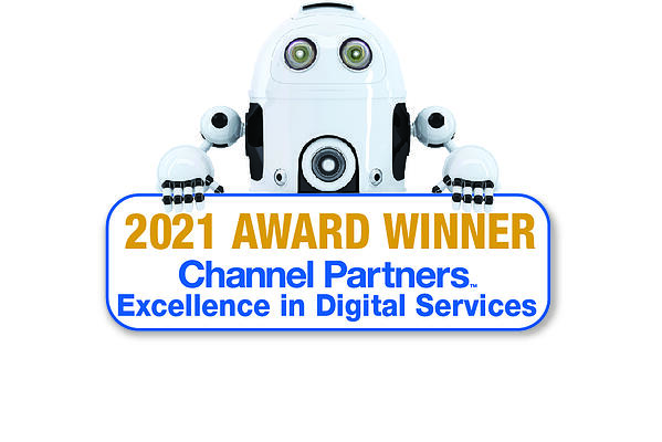 2021 Excellence in Digital Services Award Winner Badge